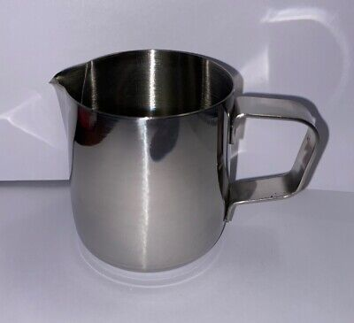 £5.95 • Buy MILK FROTHING STAINLESS STEEL PITCHER JUG 5oz / 140ml - GS350
