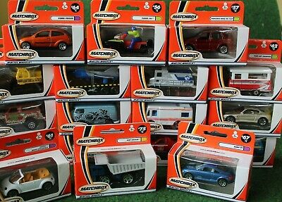 Matchbox Vehicles Diecast Boxed VW /Chevy/ Buy 4 Get One Free  • 8.99£