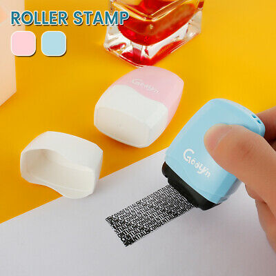 Identity Theft Protection Roller Stamp Privacy Confidential Data Guard Your ID~ • 5.39£
