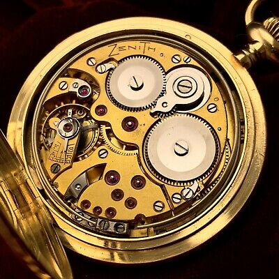 £23352.73 • Buy Zenith Grande Sonnerie Carillon Minute Repeater - Triple Gong Vintage Rare Museu