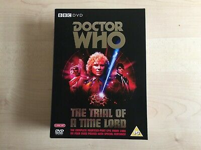 Doctor Who - The Trial Of A Time Lord (DVD Box Set, 4 Discs, 2008) • 3£