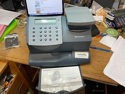 PITNEY BOWES FRANKING MACHINE WITH SCALES K700 with Sealed/unused Ink Cartridge • 50£