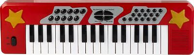 £10 • Buy Chad Valley Electronic 32 Keys 19 Demo Songs And Sounds Keyboard - Red