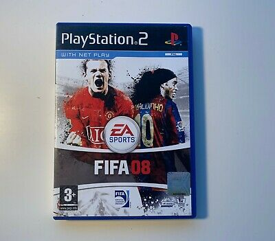 FIFA 08 - Sony PlayStation 2, PS2 - 2007 • 1£