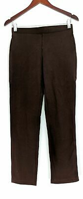 $ CDN1.25 • Buy Women With Control Women's Petite Pants XSP Pull-On Slim Leg Brown A310162