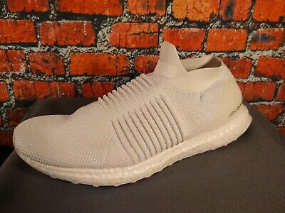 $ CDN14 • Buy EUC Men's ADIDAS White ULTRA BOOST Slip On Athletic Shoes - Size 10