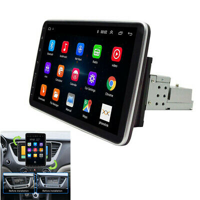 $195.20 • Buy Android 9.1 10.1in Car Stereo FM Radio MP5 Player 1DIN Wifi Bluetooth GPS Nav