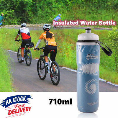 AU14.18 • Buy 710ml Portable Outdoor Insulated Water Bottle Bike Bicycle Cycling Sport Cup AU