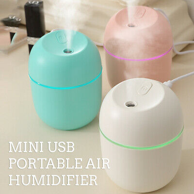 AU10.99 • Buy Air Diffuser Aroma Oil Humidifier USB Night Light Home Car LED Relax Defuser AU