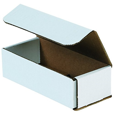 $34.57 • Buy Aviditi M732 Corrugated Mailers, 7  X 3  X 2 , Oyster White Pack Of 50