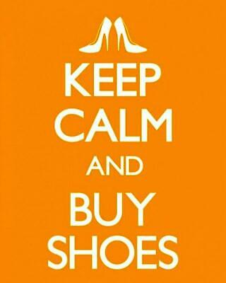£5.49 • Buy Keep Calm And Buy Shoes - Mini Poster 40cm X 50cm New And Sealed