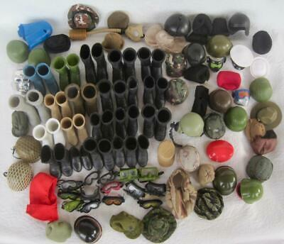 $ CDN99.19 • Buy GI Joe 1:6 LG Variety LOT Hats Helmets Goggles Boots Shoes Accessories For 12