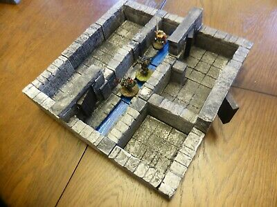 3D Modular Tiles Table Top RPG Board Game Frostgrave Dungeons And Dragons • 23£