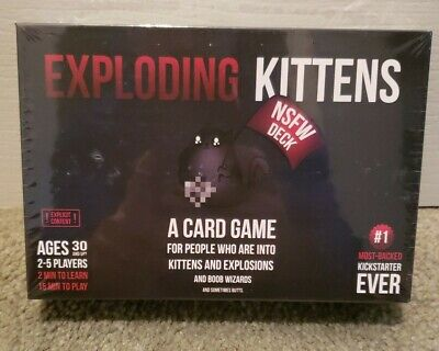 AU16.95 • Buy Exploding Kittens NSFW Deck (Adults Only) Game New Sealed FREE SHIPPING