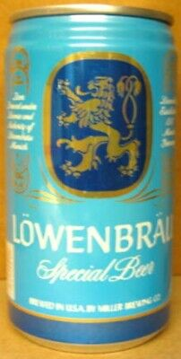 $3.98 • Buy LOWENBRAU SPECIAL BEER Empty 12oz CAN With LION, Miller, Milwaukee, WISCONSIN 1+