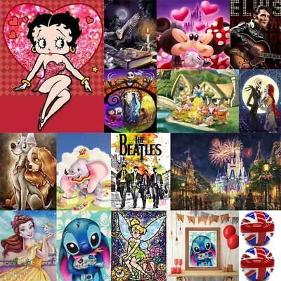 Cartoon 5D Diamond Painting Embroidery Cross Craft Stitch Pictures Art Kit Mural • 4.99£