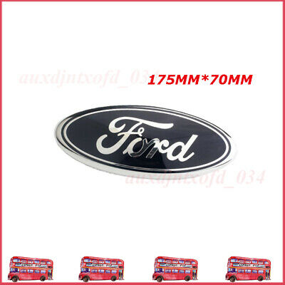 1pc Oval Badge Front Back Bonnet Emblem For Ford Transit Tourneo 175mm X 70mm • 15.62£