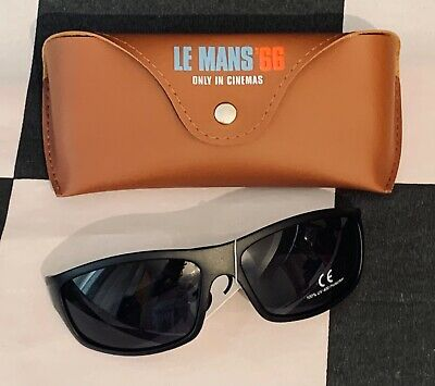 Official Licensed Le Mans '66 Sunglasses + Case New Ford Gt40 Ken Miles Bale • 25£