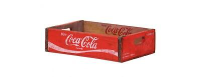 Vintage Display Crates Wooden Box/Crate - Coca Cola (Red) • 66£