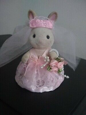 Sylvanian Families Hand Made Clothes BRIDES Dress For Adult Figure • 8£