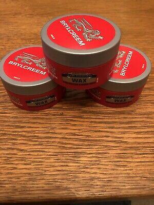 3 X Brylcreem Styling Wax For Men's Short Hair Strong Hold 75ml  • 10£
