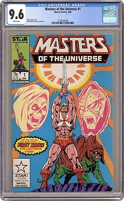 $140 • Buy Masters Of The Universe #1 CGC 9.6 1986 3719328009