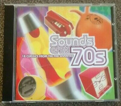 Various - Sounds Of The 70s: 18 Classics From Fab Seventies (Time Life CD, 1999) • 15.99£