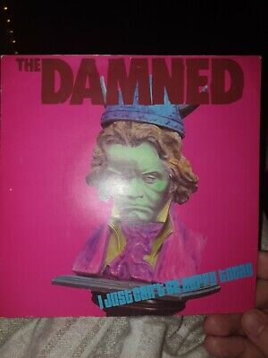 THE DAMNED PUNK VINYL I JUST CANT BE HAPPY TODAY. 7  Single • 2.30£