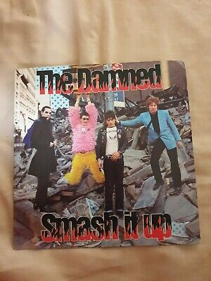 The Damned : Smash It Up Chiswick 1979 7  Vinyl • 1£