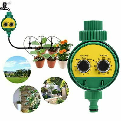 Garden Plant Automatic Drip Irrigation System Kit Timer Self Watering Controller • 13.85£