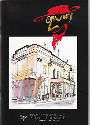 £5 • Buy Programme & Tickets X 3 For Oliver At Theatre Royal 27.6.2009 Rowan Atkinson
