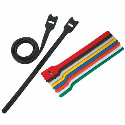 £2.29 • Buy Hook And Loop Cable Ties, Reusable Strapping, Double Sided, Various Colours