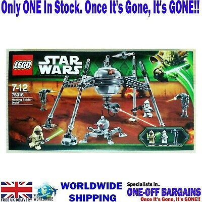 LEGO STAR WARS Homing SPIDER DROID 75016 - FACTORY SEALED IN BOX NEW (UK) - NEW • 101.97£