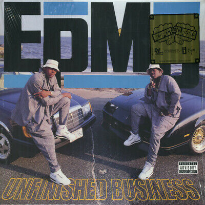 Epmd   Unfinished Business   Sealed U.s. Lp ** Classic Hip Hop Vinyl ** • 19.99£