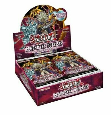 YuGiOh Legendary Duelists Rage Of Ra Sealed Booster Box Of 36 Packs 1st Edition • 79.90£