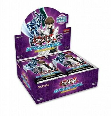 YuGiOh! Speed Duels: Attack From The Deep Booster Box - 36 Packs - NEW Sealed!! • 1.20£