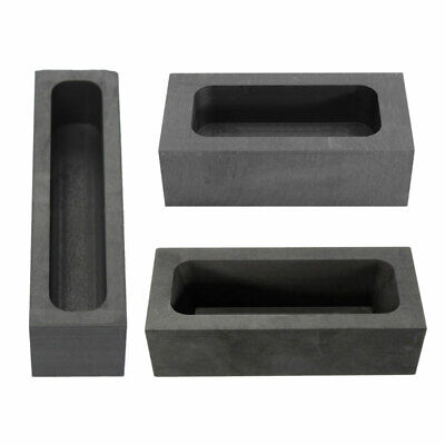 Gold Silver Graphite Ingot Mold Mould Crucible For Melting Casting Refining • 9.19£