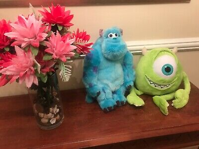 Disney Monsters Inc Mike And Sully Plush Toys • 24.99£