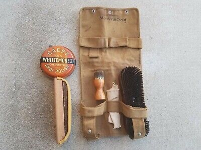 $15 • Buy WW2 USMC Boot Shoe Shine Kit Name Ink Stamped