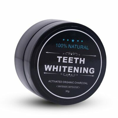 AU12.99 • Buy Teeth Whitening Powder Activated Bamboo Charcoal Powder Tartar Stain Removal