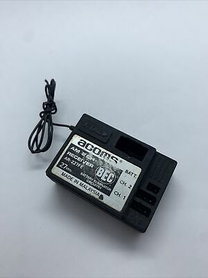 Vintage Acoms AR-227FE AM 2 Channel, Rc Car Acoms Receiver, For Tamiya Etc #1 • 12£
