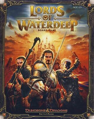 AU65.23 • Buy Dungeons & Dragons Board Game: Lords Of Waterdeep - New!