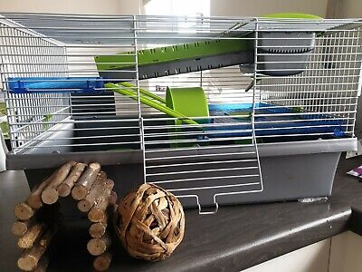 Hamster Cage And Accessories  • 4.10£