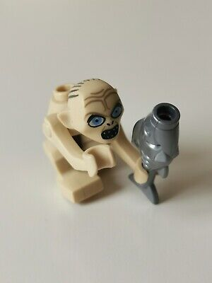 ⚡ LEGO Hobbit And Lord Of The Rings Gollum Minifigure Lor005 From Set 9470 • 7.99£