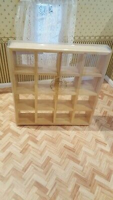 Dolls House Furniture Modern Display Shelves • 13.50£