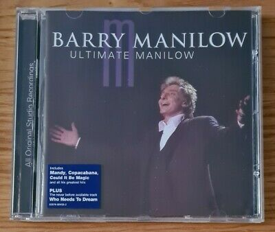 Barry Manilow : Ultimate Manilow CD (2004) • 2.59£