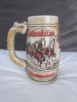 $ CDN19.08 • Buy  BUDWEISER Clydesdale's Holiday Beer Stein
