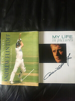 Signed Book: Andrew Flintoff My Life In Pictures H/B With Patrick Murphy • 14.50£