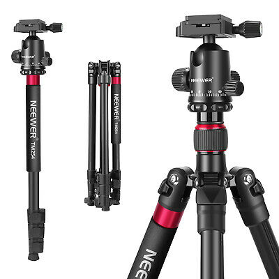 AU59.99 • Buy Neewer 2-in-1 Aluminum Alloy Camera Tripod Monopod 66 Inches With Ball Head