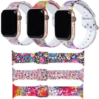 $ CDN11.72 • Buy For Apple Watch Series 6 5 4 3 2 1 Fashion Modern Strap Band 44mm 42 40mm 38mm